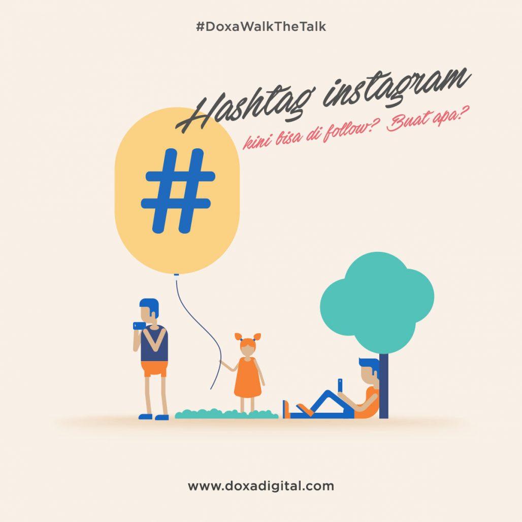 Hashtag instagram dapat di follow? ketahui beberapa fungsinya.