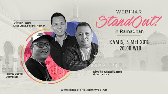 Webinar DOXA - StandOut! in Ramadhan