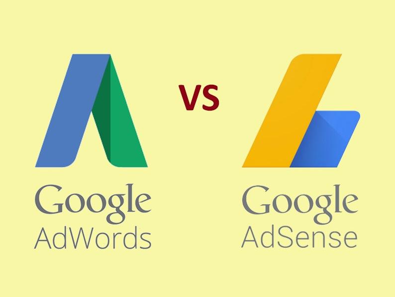 Perbedaan antara Google Adwords dan Google Adsense