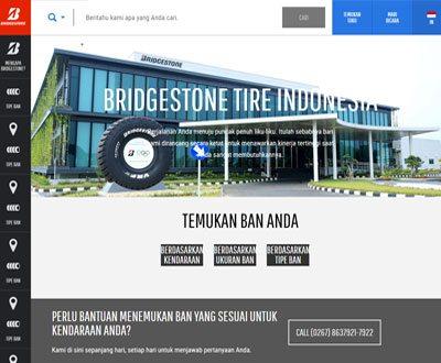 Portofolio Client Website Bridgestone