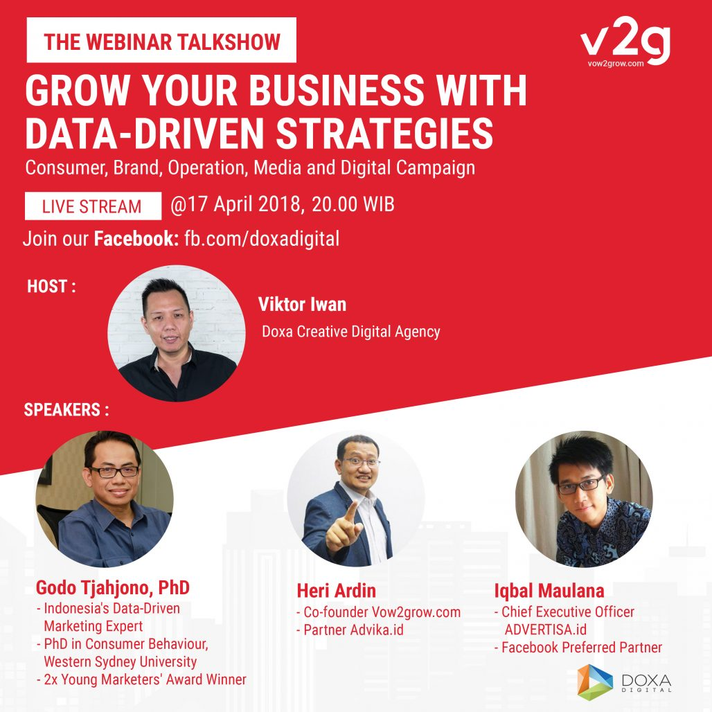 Webinar DOXA - Grow Your Business with Data Driven Strategies