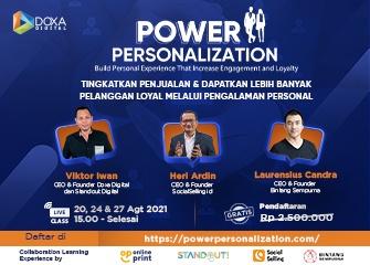 Power Personalization mini